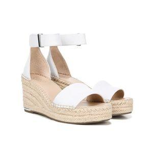 NWT Franco Sarto Espadrille Wedge Sandal Size 10W